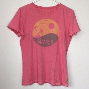 Life is Good I Like Waves Shirt